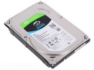 Жесткий диск SEAGATE Barracuda 1Тб, HDD, SATA III, 3.5""