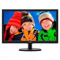 "PHILIPS 223V5LSB2 (10/62) 21.5"", черный"