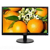 "PHILIPS 243V5LSB (10/62) 23.6"", черный"