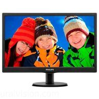 "PHILIPS 203V5LSB26 (10/62) 19.5"", черный"
