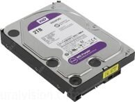 Жесткий диск WD Purple, 2Тб, HDD, SATA III, 3.5""